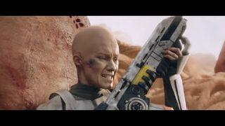 Wojna z rakiem - spot jak film science fiction