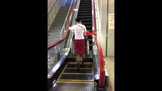 Ruchome schody dla osób niepełnosprawnych w Japonii