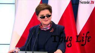 """Premier Szydło """"zgasiła"""" dziennikarza za zakupy w lumpeksie"""
