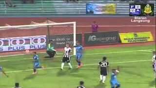 Niesamowicie podkręcony gol! Penang FA vs Pahang FA 2016