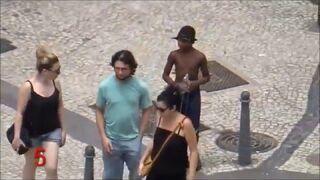 Zobacz, co dzieje się w centrum Rio de Janeiro