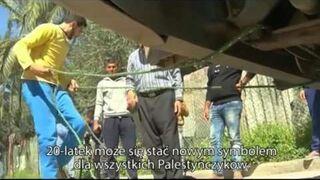Strongman ze Strefy Gazy
