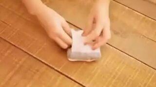 Japoński sposób na składanie skarpetek