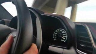 """Stonoga w Ferrari 345 km/h i """"Jebać Policję"""""""