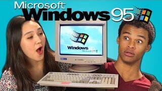 Tak reagują dziś nastolatkowie na Windows 95