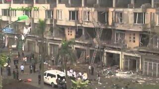 Potężna eksplozja w stolicy Wietnamu zabiła 5 osób