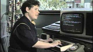 Jak wysyłano e-maile w 1984?
