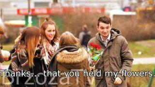 Giving away flowers   [BrzozaTV]