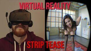 Wirtualny striptiz z nieprzyjemnym żartem