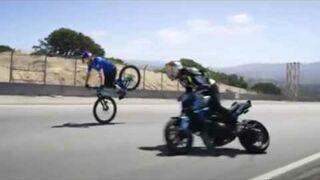 Danny MacAskill and Aaron Colton shred the Laguna Seca Corkscrew