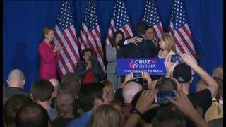 Ted Cruz przypadkowo bije żonę Heidi nie raz, ale dwa razy :)