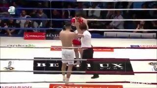 Sędzina dostała przypadkowo sierpowy podczas walki kickboxingu