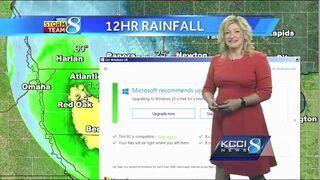 Microsoft upgrade podczas prognozy pogody