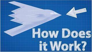 Stealth - Jak działa? (B-2 Spirit – amerykański bombowiec)