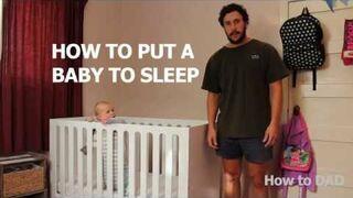 Jak położyć dziecko do spania