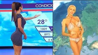 Meksykańska pogodynka Yanet Garcia - Komilacja