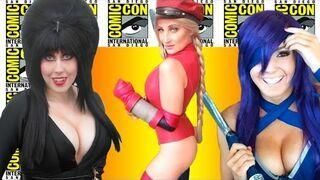 Dziewczyny z Comic-Con 2016