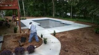Basen betonowy realizacja krok po kroku