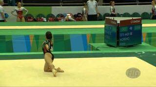 Alexa Moreno, gimnastyczka z krągłościami