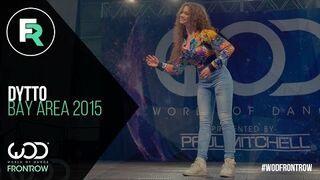 Pani Dytto robi robota | World of Dance Bay Area 2015