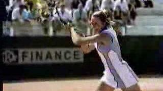 Tenis w wykonaniu kobiet