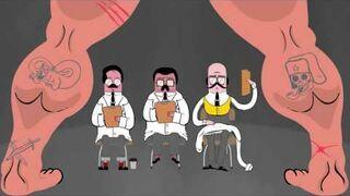 Animacja o sowieckiej myśli tanecznej