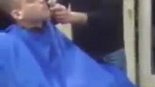 Masturbacja u fryzjera
