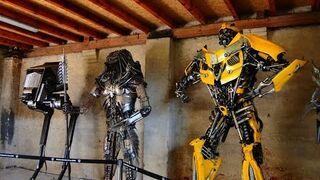 Fabryka robotów - factory of robots