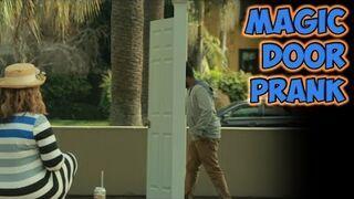 Magiczne drzwi w parku |  PRANK