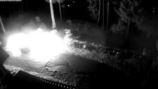 Podpalenie samochodu   Karpacz