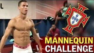 Cristiano Ronaldo w samych bokserkach!