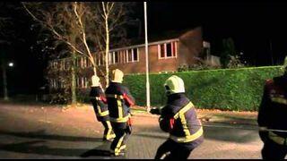 Nieoczekiwana pomoc strażakom