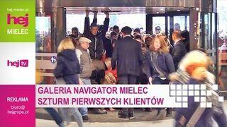 Moment otwarcia Galerii Handlowej Navigator w Mielcu