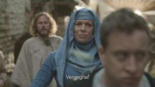 Reklama wody mineralnej Heavybubbles w stylu Gry o Tron