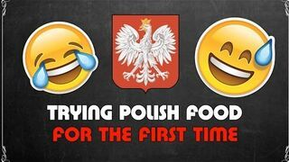 Afrykanie próbują polskich potraw