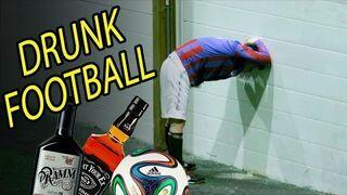Piłkarze na fazie. Czyli piłka nożna po alkoholu!