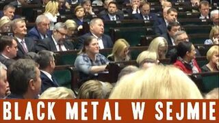 Krystyna Pawłowicz: Black metal w Sejmie