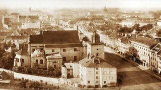 Panorama Warszawy z 1873 roku