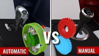 Automatyczna vs Manualna skrzynia biegów