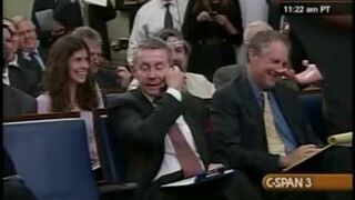 Cell Phones Interrupt White House Briefing