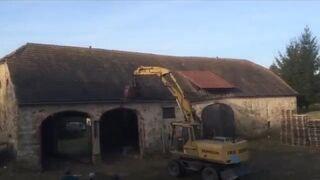 Szybka rozbiórka budynku