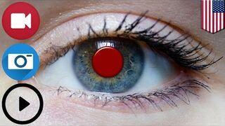 Sony opatentował soczewki do oczu nagrywające i odtwarzające wideo