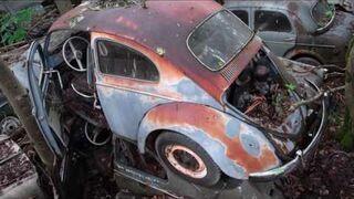 "Niemożliwe # 4 - ""Cmentarzysko aut w Belgii"" ""Graveyard cars in Belgium"""