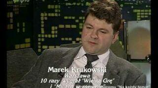Marek Krukowski o marihuanie
