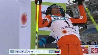 Adrian Solano najgorszy narciarz z Wenezueli