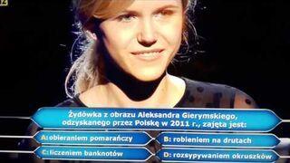 Milionerzy: Dziewczyna była pewna odpowiedzi