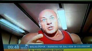 Walka Popek vs Hardkorowy Koksu! GALA KSW 39