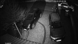 W 40 sekund ukradli Audi A6 spod domu w Katowicach