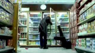 Steven Seagal podczas zakupów