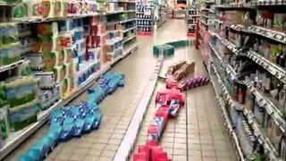 Nocna zmiana w hipermarkecie